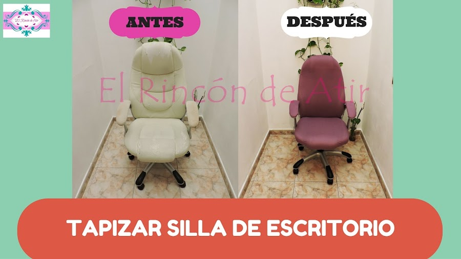 tapizar silla de escritorio