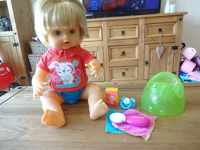 Rumbly Tummy Cicciobello doll review