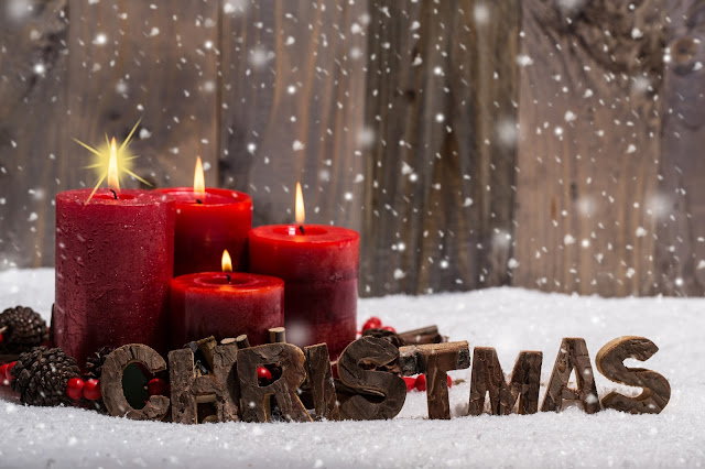 merry christmas greeting wallpaper hd
