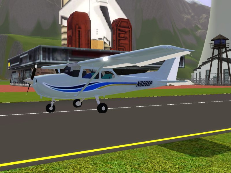 Simming in Magnificent Style: Cessna 172