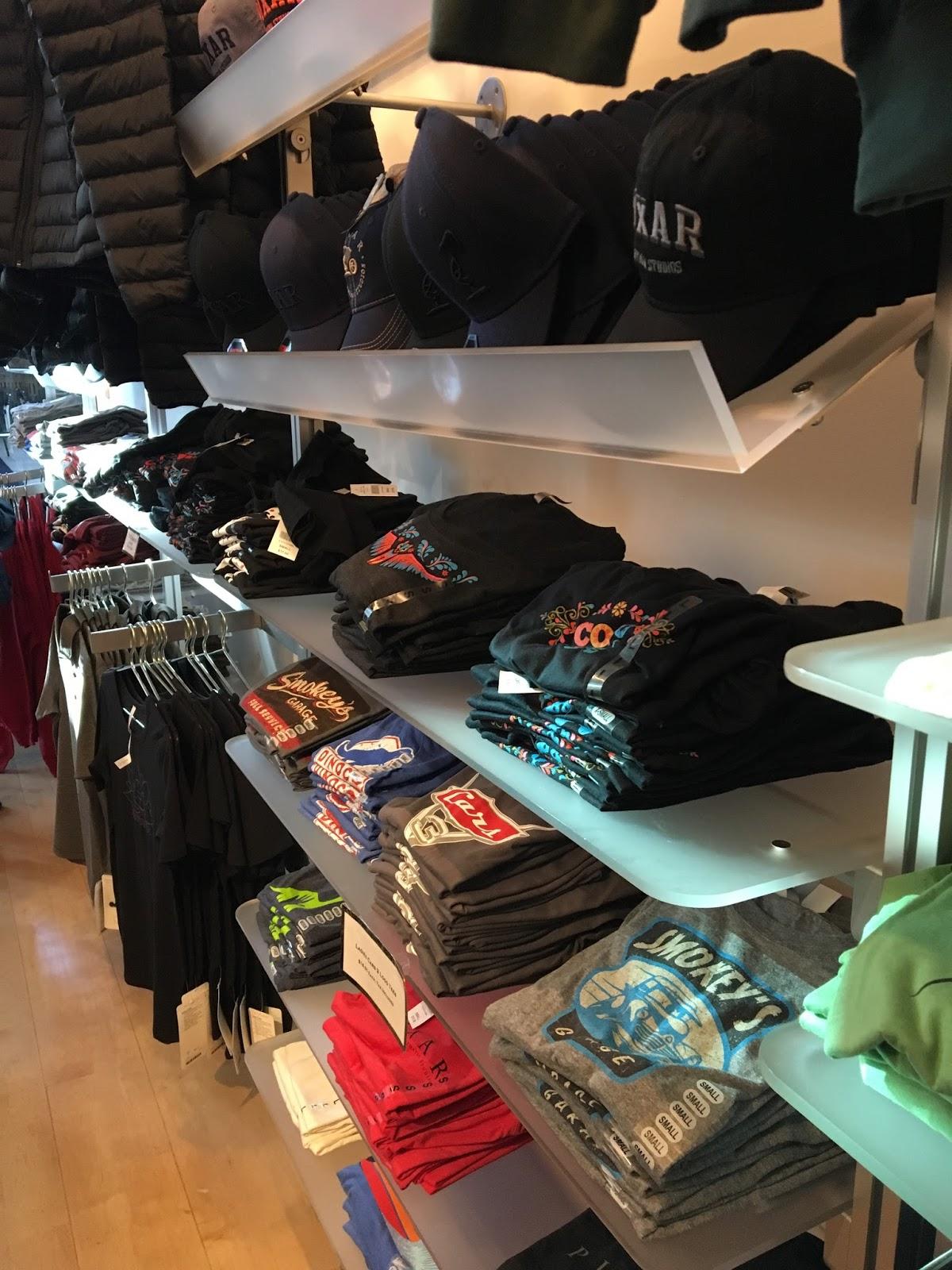 pixar studio store 2017