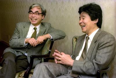 Hayao Miyazaki and Isao Takahata