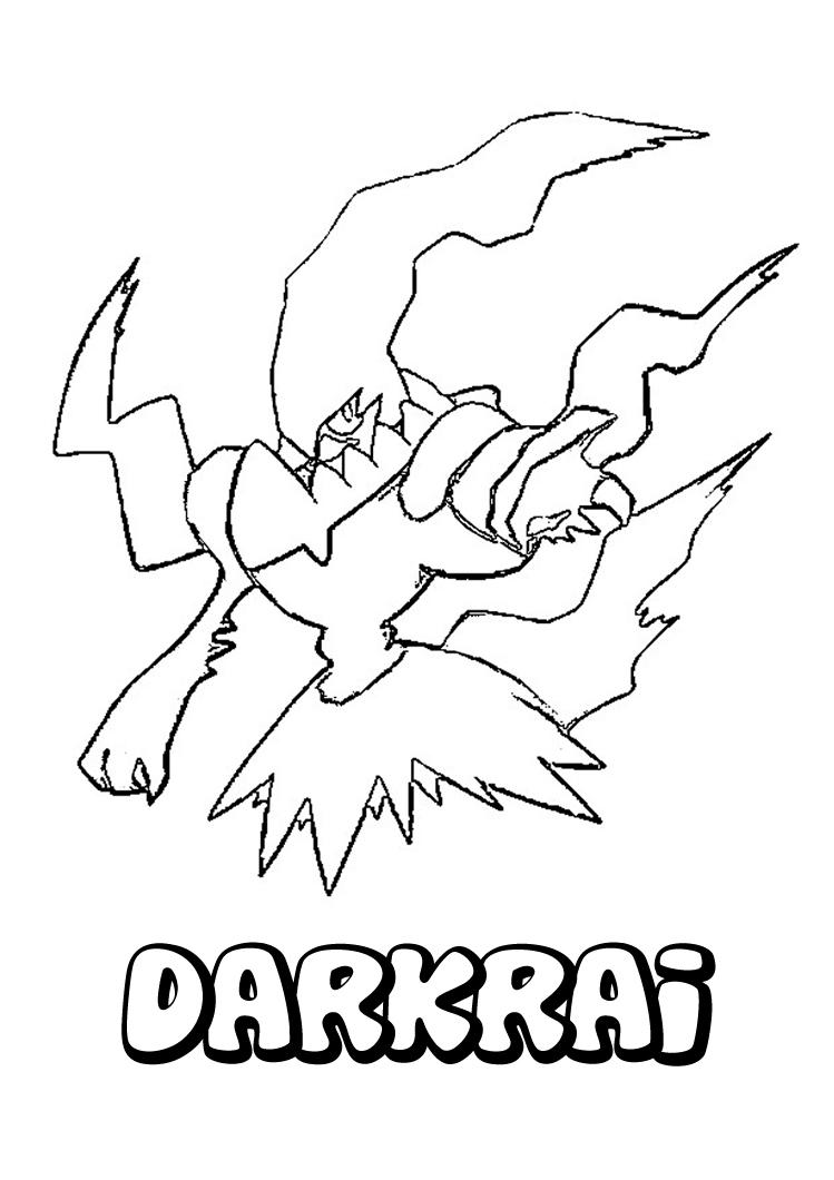 disegni da colorare  disegni da colorare  pokemon nero