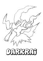 disegni da colorare: Disegni da colorare: POKEMON NERO