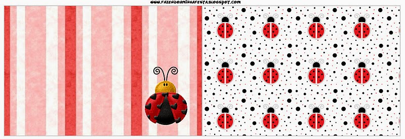 Free Printable Candy Bar Labels for a Ladybugs.