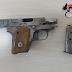 Bari Madonnella. Arrestati dai carabinieri due giovani mentre si passano una pistola cal. 6,35 con 6 cartucce pronta a fare fuoco [CRONACA DEI CC. ALL'INTERNO]