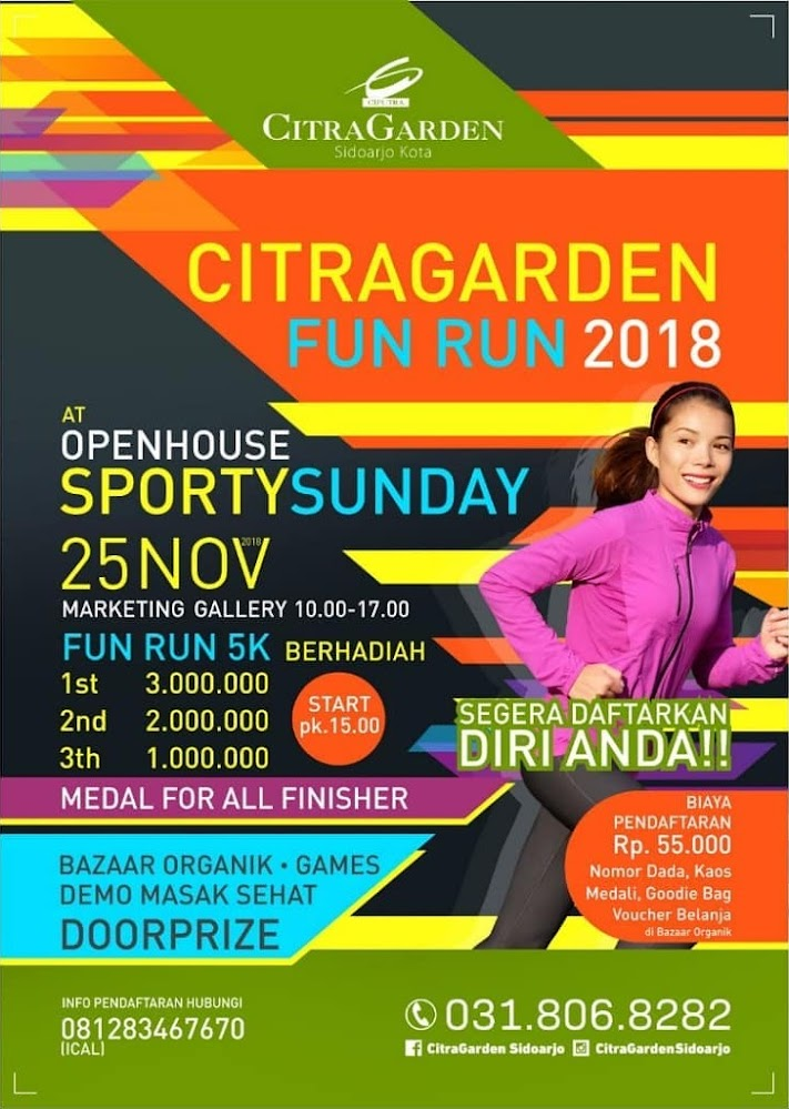 CitraGarden Fun Run • 2018