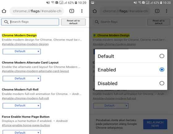 tips dan trik google chrome seluler android dan ios