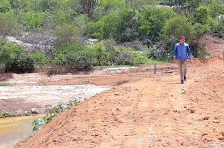 Olivânio Remígio e Ranieri Ferreira visitam ações realizadas na zona rural de Picuí