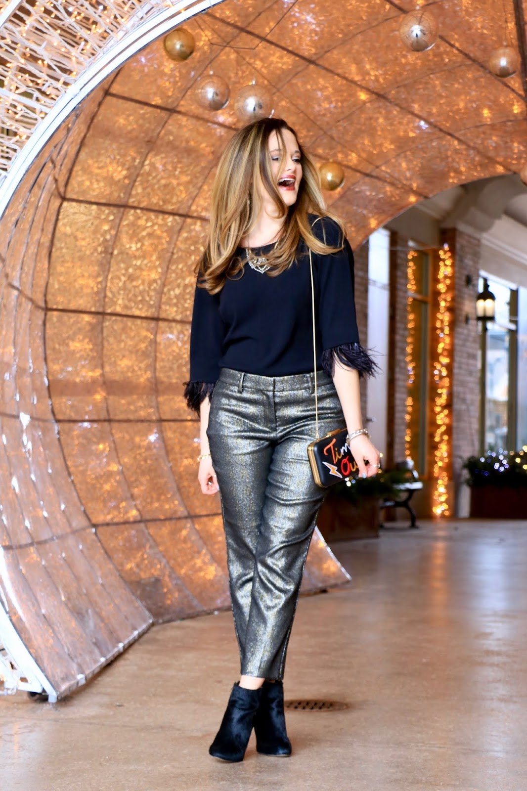 Nyc fashion blogger Kathleen Harper's nye outfit ideas