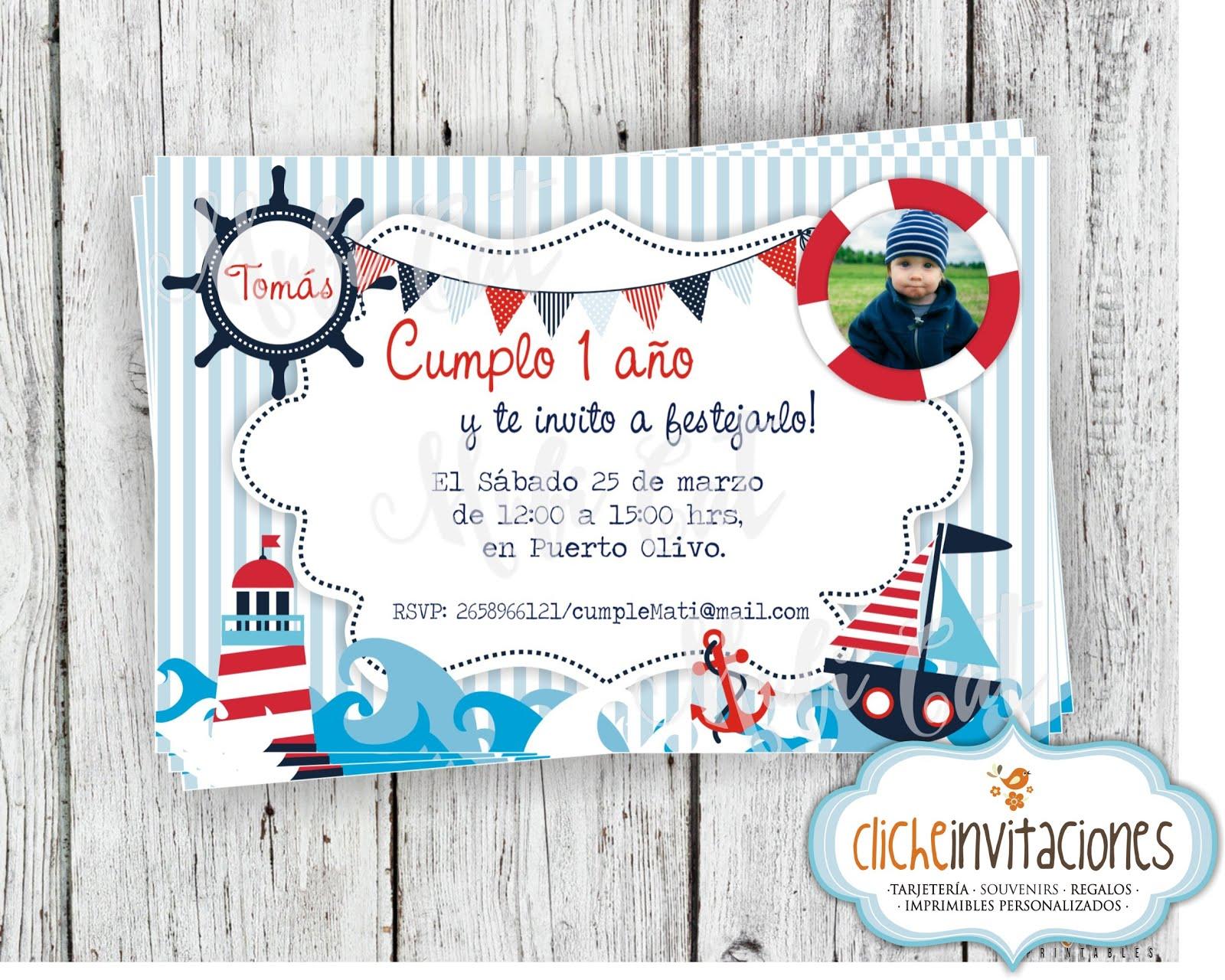 Cliche invitaciones tarjetas de cumplea os invitaciones - Tarjetas 50 cumpleanos ...