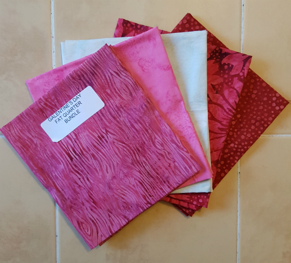 Island Batik pinks and reds | DevotedQuilter.blogspot.com