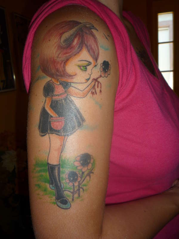 Iy >> Tattoo Donkey: Angel Devil Tattoo Design