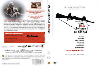 Carátula: Uno Rojo, división de choque (1980) The Big Red Oneaka