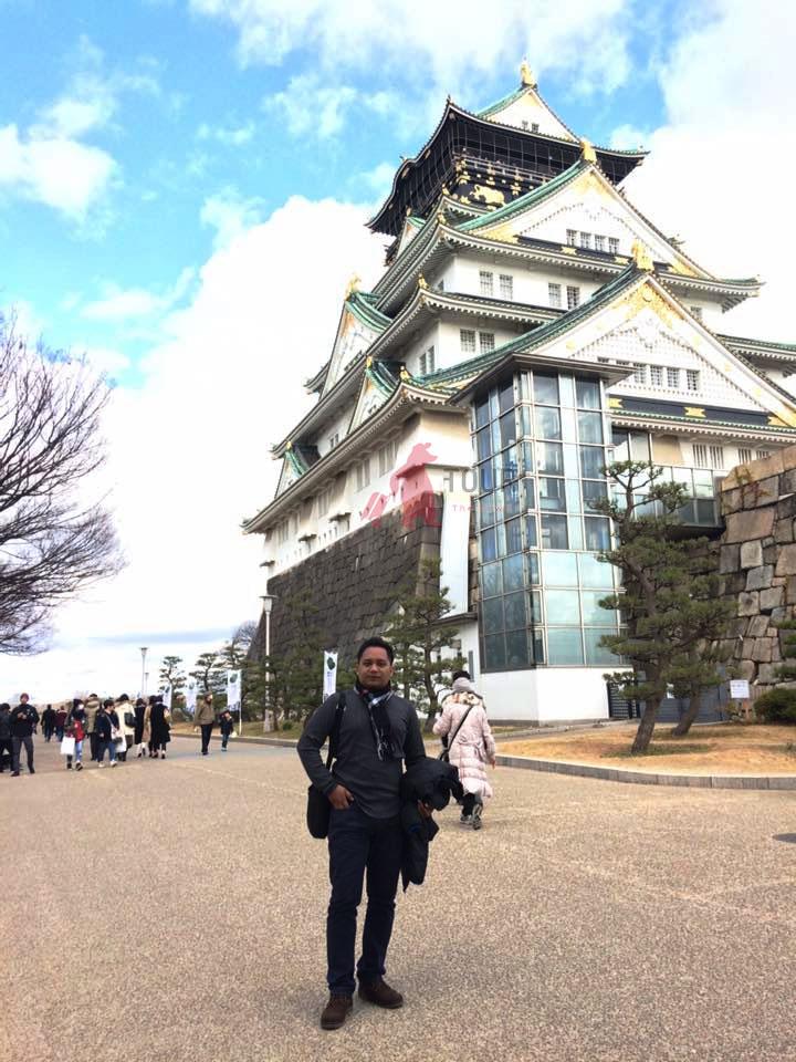 Osaka Castle Wisata Jepang