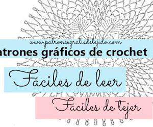 Patrones Crochet Fáciles de Tejer