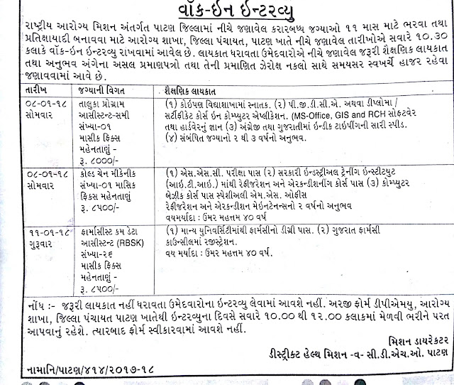 national-health-mission-nhm-patan-recruitment-2018