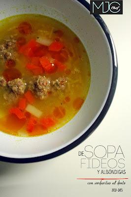 Fideos soup