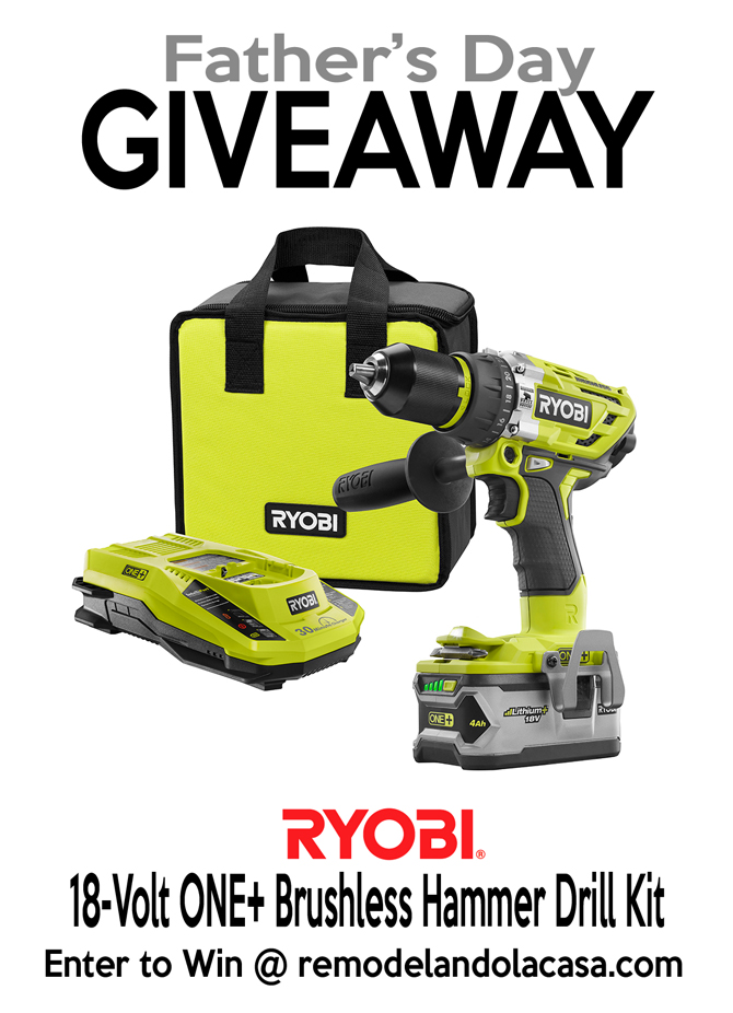 Father's day giveaway - five tools dad will love #thdprospective