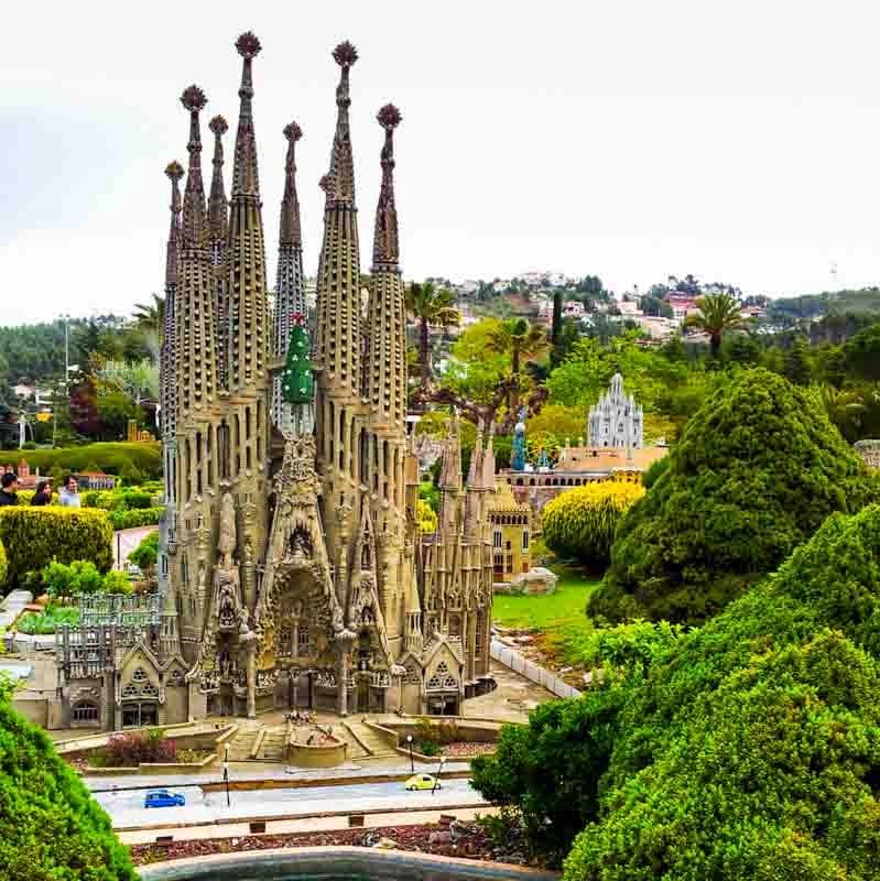 Catalunya en miniatura: La Sagrada Familia