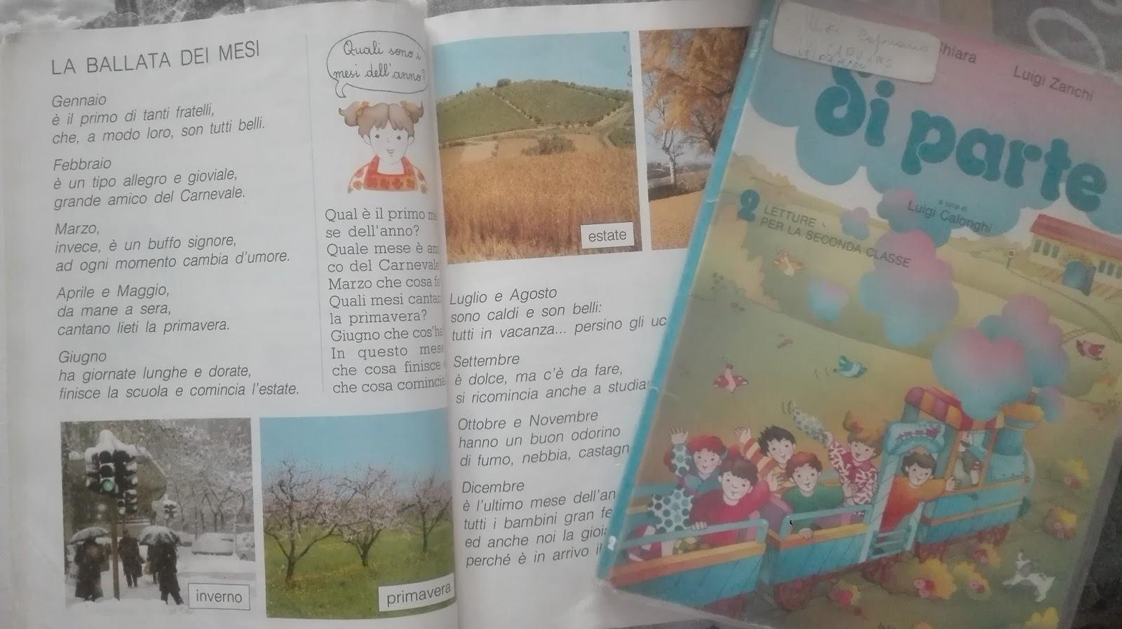 Ricordi i miei libri delle elementari for Libri scuola