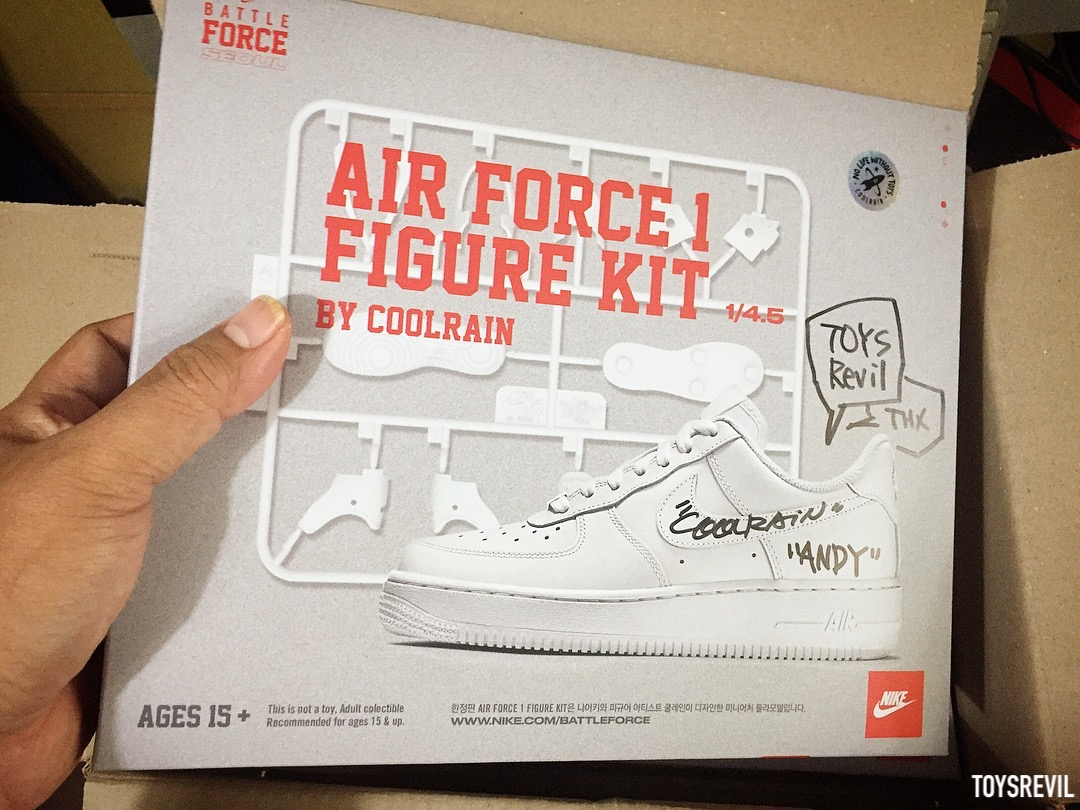 a813c0e859ec2 A Closer Look @ The AIRFORCE 1 FIGURE Plamodel Kit by Coolrain (For ...