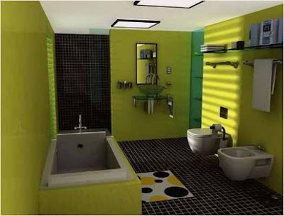 Decorating For Bathroom With Yellow Walls