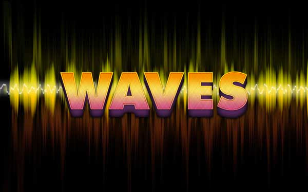 Wave's Text Effect