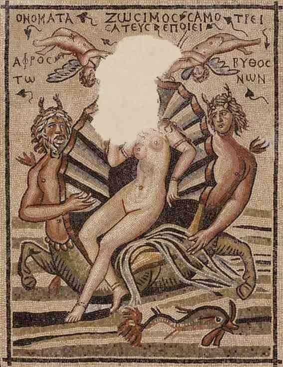 Αναδυομένη Αφροδίτη, Ζεύγμα, 2ος αι. μ. Χ.
