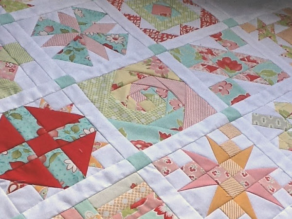 Chatelaine- Free BOW Sampler Quilt Bonus Blocks
