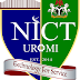NICT Uromi ND Full-Time (Post-UTME) Admission Form 2018/2019