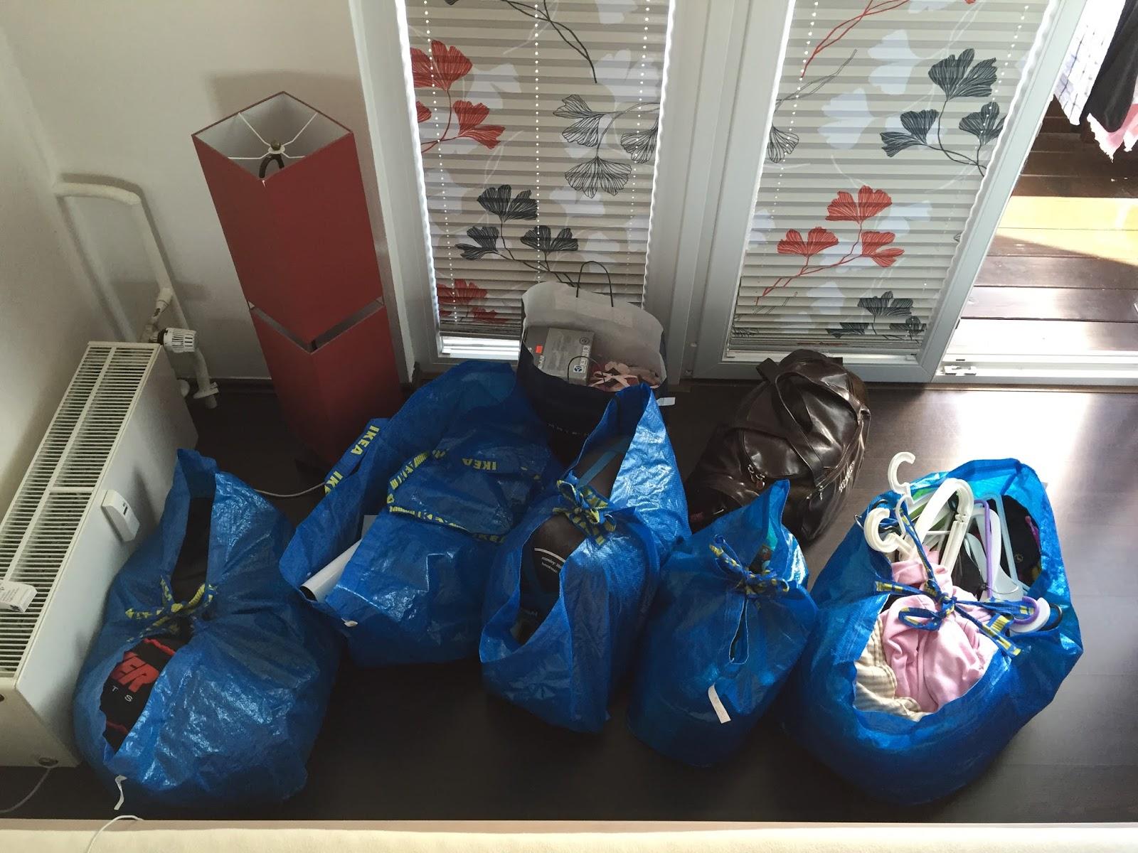 taška na stěhování Ikea