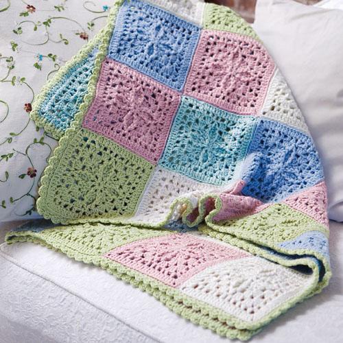 Crochet Refreshing Throw - Free Pattern