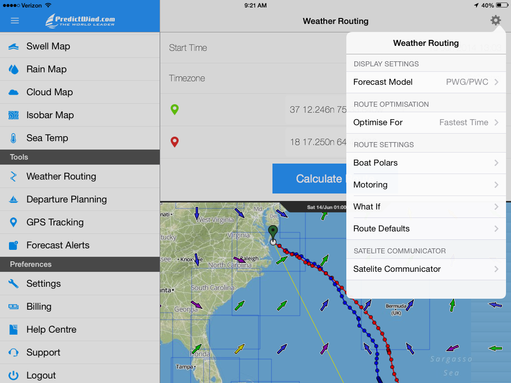 Marine Route Planner - energyaudio's diary