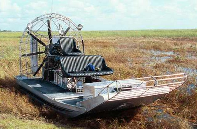 Neoteric Hovercraft Blog: How do airboats compare to hovercraft?
