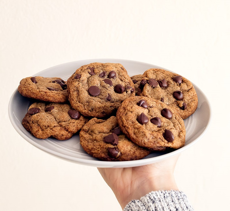 Small Batch Chocolate Chip Cookies.