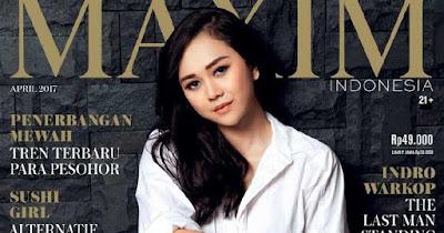 Aura Kasih Maxim Magazine
