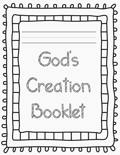 Preschool Bible Creation Coloring Pages