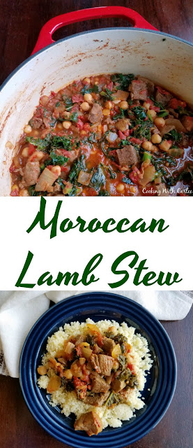 Moroccan Lamb Stew is hearty, flavorful and warm. It is perfect nestled on a bed of couscous and is sure to leave you full and satisfied.