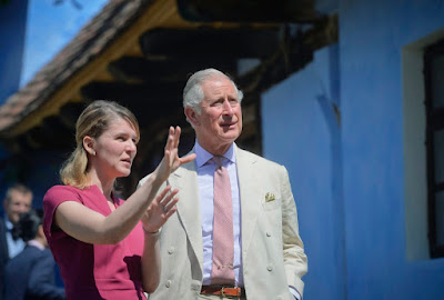 Károly herceg, Szászfehéregyháza, fenntartható fejlődés, Walesi Herceg Alapítvány, kistermelők, bio termékek