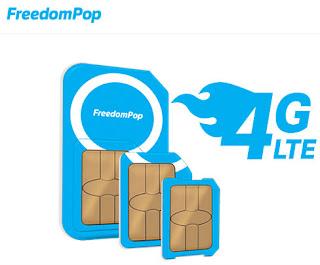 FreedomPop GSM LTE SIM