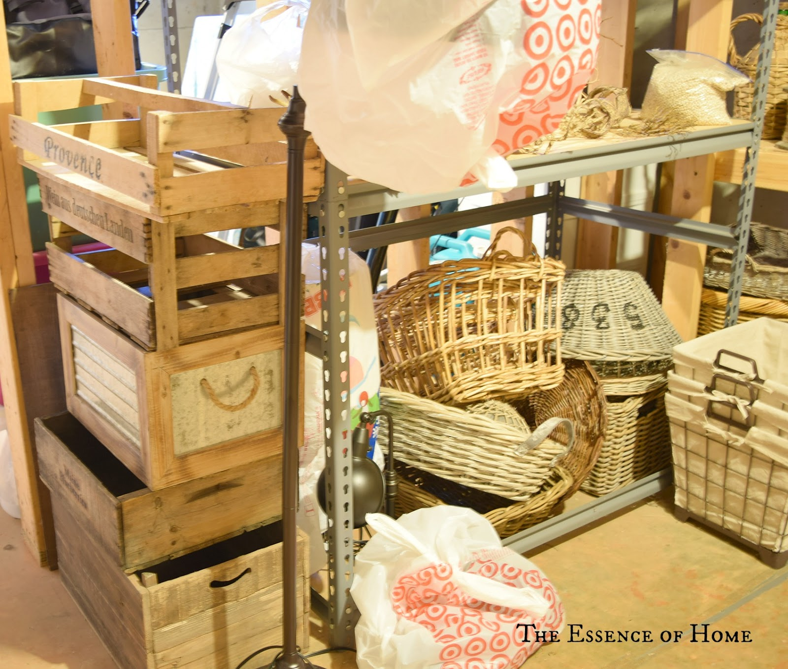 """The Essence Of Home: My """"Store"""" In The Basement"""