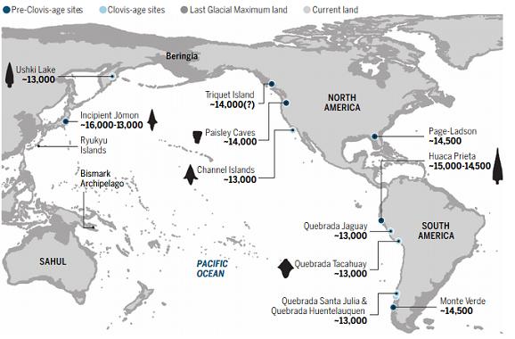 Les premiers américains et la théorie de la migration côtière