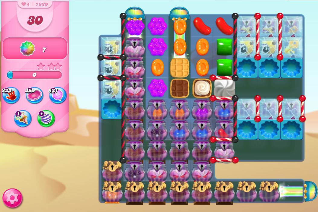 Candy Crush Saga level 7620