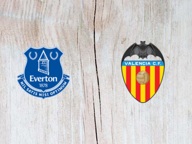 Everton vs Valencia - Highlights - 04 August 2018