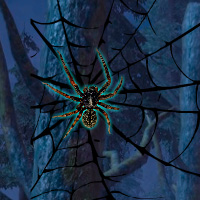 WowEscape Black Widow Spider Forest Escape