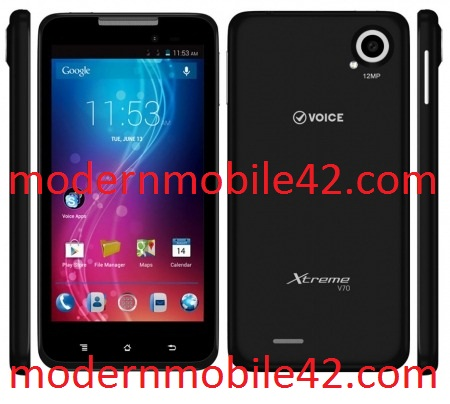 Voice Xtreme V70 MT6589 flash file