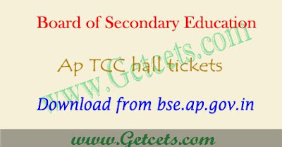 AP ttc hall tickets 2018-2019 tcc technical teacher certificate course