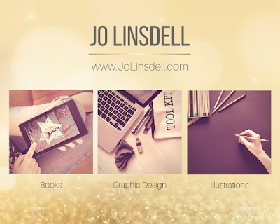 Jo Linsdell - Author, Graphic Designer, Illustrator