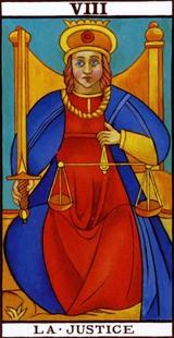la carte de la justice